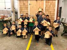Bear Bird Houses 11/4/19