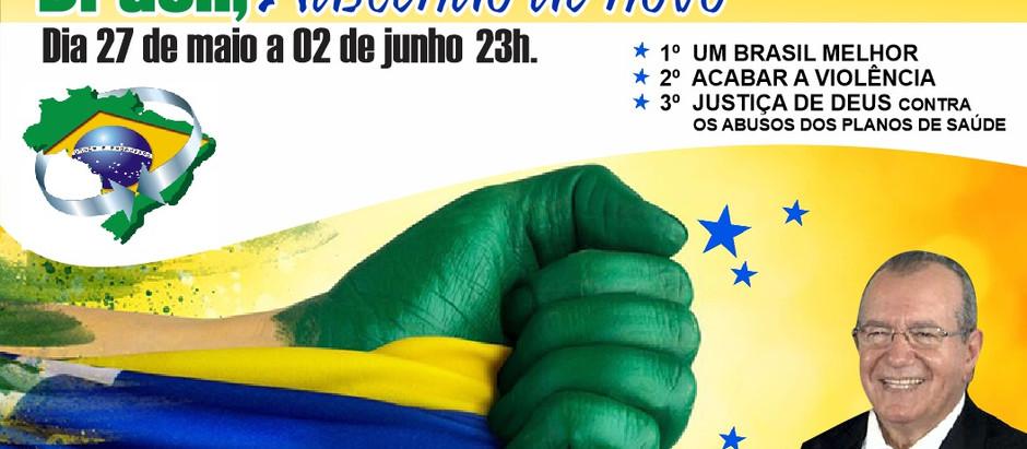 Brasil, nascendo de novo
