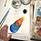 Thumbnail: TikTok Rainbow Suns 6x6 Inch Gouache Painting