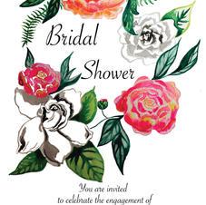 Bridal Shower Invitation 2016