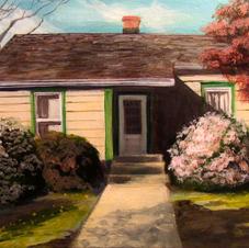 """Chesapeake House 8x10"""" Acrylic on Canvas"""