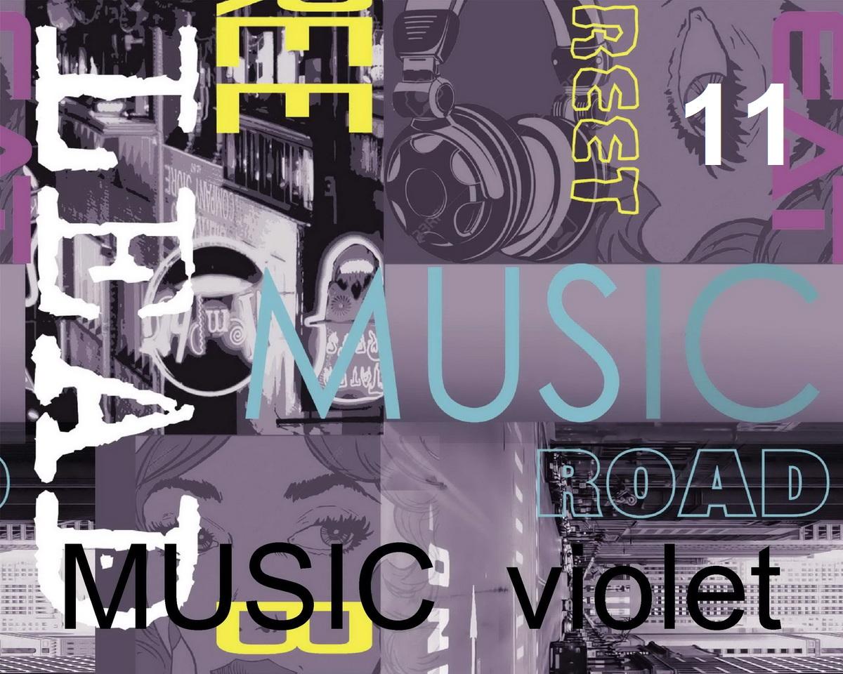 music violet