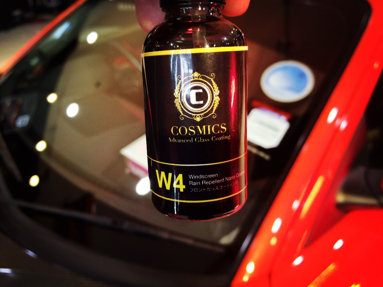 cosmics w4 windscreen coating