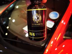 cosmics w4 windscreen coating