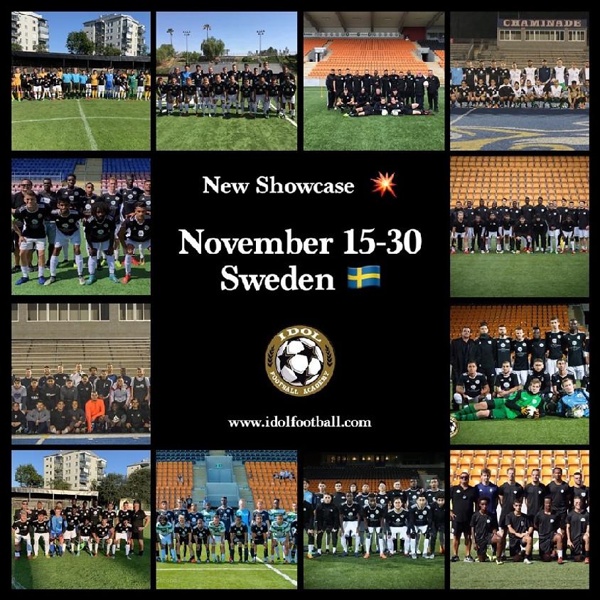 SHOWCASE - SWEDEN - NOVEMBER 15 -30/ 2021