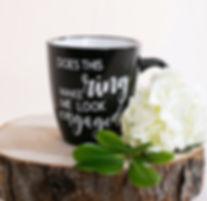 Coffee Mugs - Does this ring make me loo
