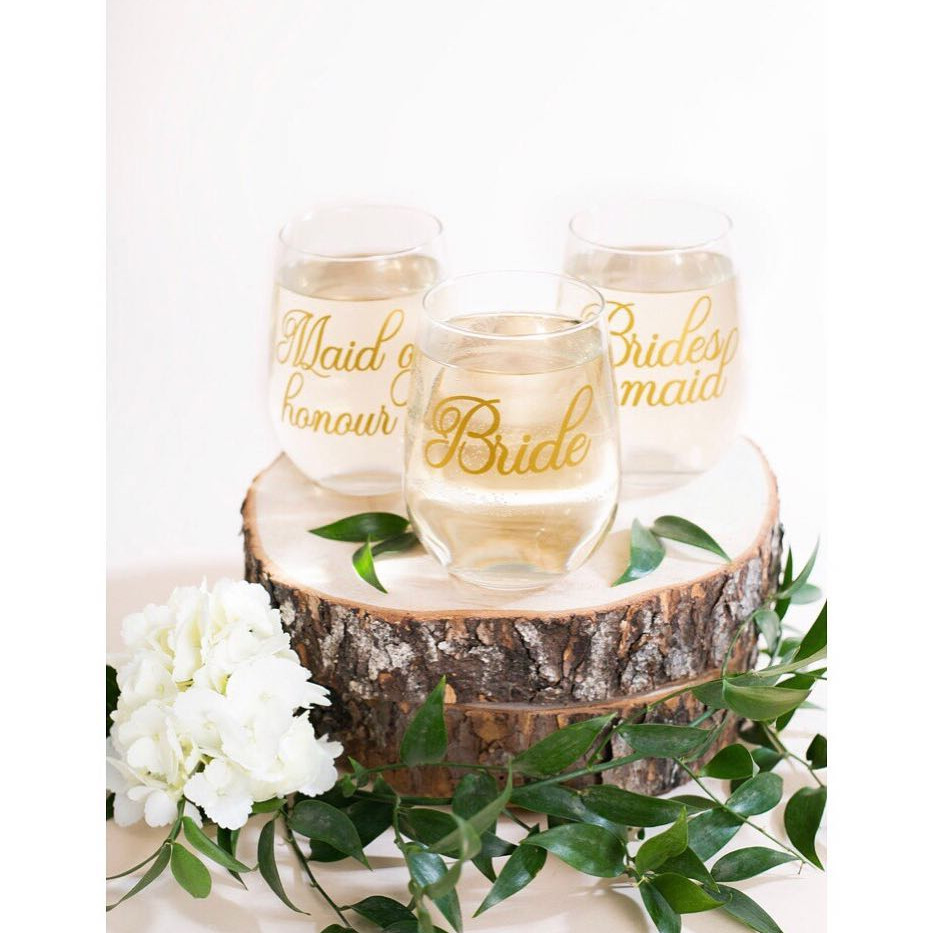 Stemless Wine Glass - Bridal Party.jpg