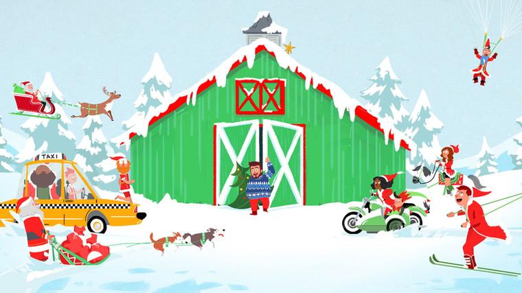 TruTV's Santa's in a Barn Titles