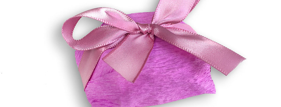 Pink Wrapping with Pink Ribbon