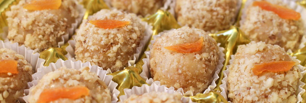 Walnut with Apricot Brigadeiro - Box of 20