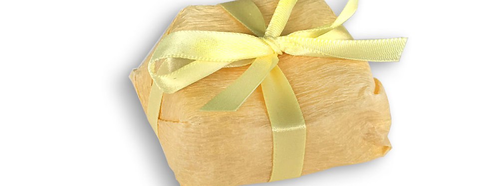 Yellow Wrapping with Yellow Ribbon