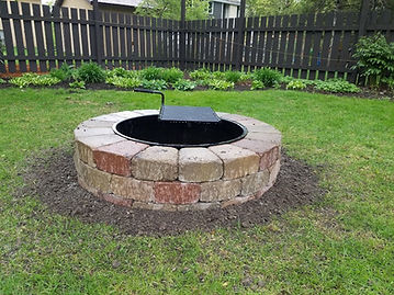 Fire Pit in Roseville MN
