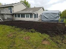 Garden Black Dirt After