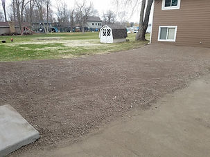 Class 5 Gravel Parking Pad in Hugo MN