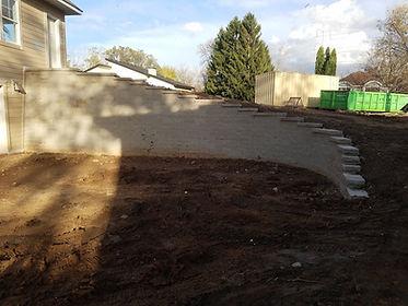 Engineered Retaining Wall Versa-lok in Roseville MN