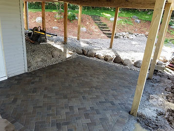 Paver Patio In Roseville MN