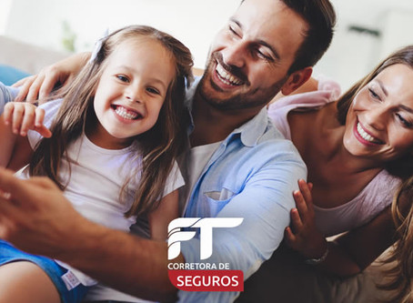 Poupe dinheiro para um seguro de vida e a assistência que sua família merece