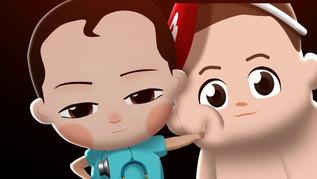 모션그래픽 애니메이션 영상제작 Client : 질병관리청
