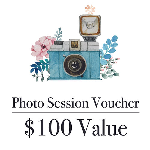 Photography Gift Voucher - $100 Value