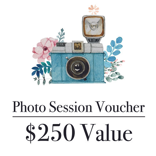Photography Gift Voucher - $250 Value