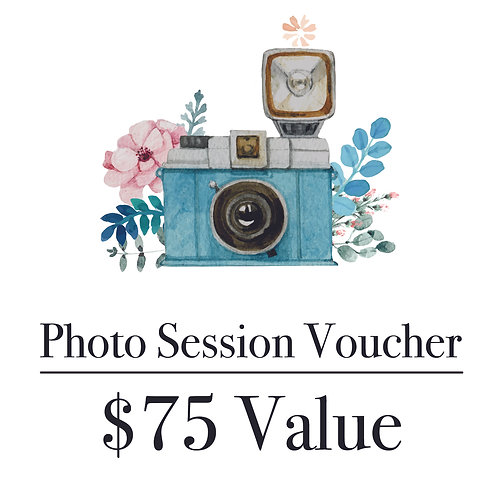 Photography Gift Voucher - $75 Value