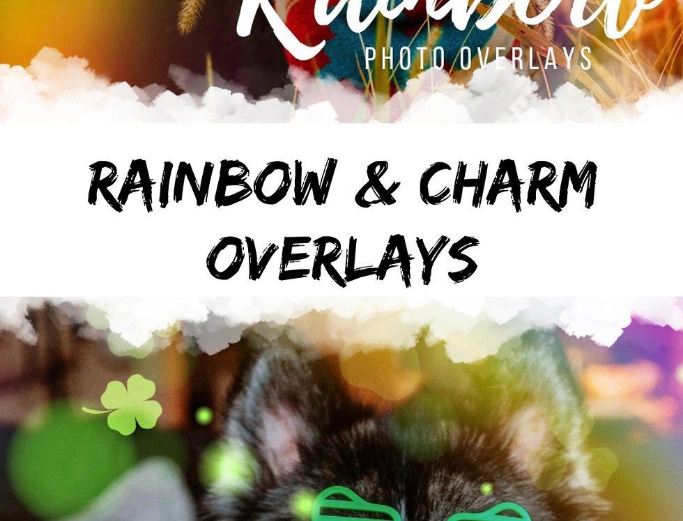 Rainbow & Charm Overlay Bundle