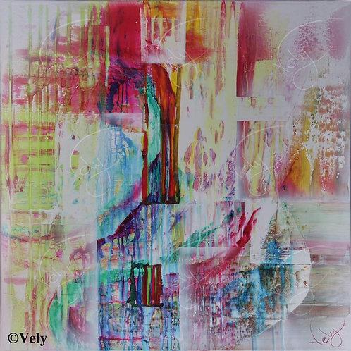 Ruissellement de couleurs 48X48
