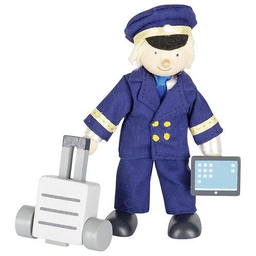 Flexible puppet, pilot