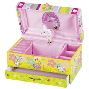 Music box with drawer, Susibelle