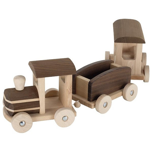 Wooden train, natural collection, Bern by goki