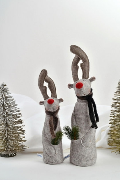 Werner and Heinz, Handmade Christmas figures, set of 2by Zwergnase
