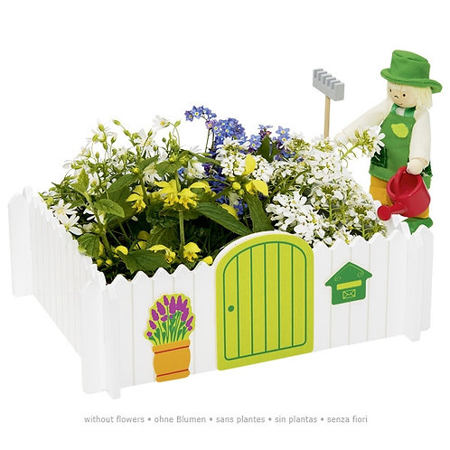 Flexible puppet gardener, garden of my own