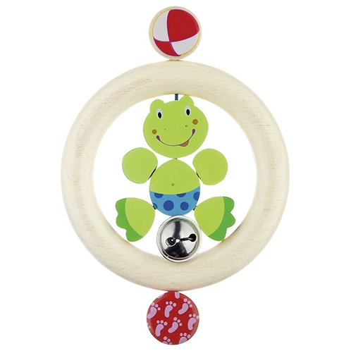 Heimess Touch ring for babies, elastic, frog