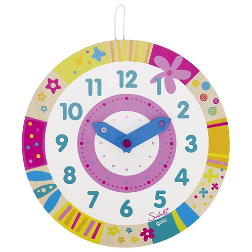 Susibelle clock, learn the time