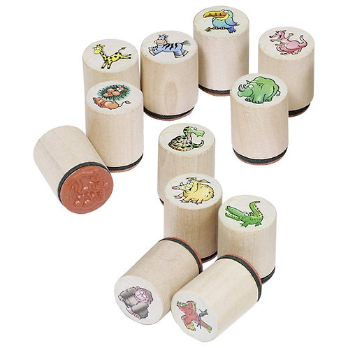 48 Stamps, wild animals