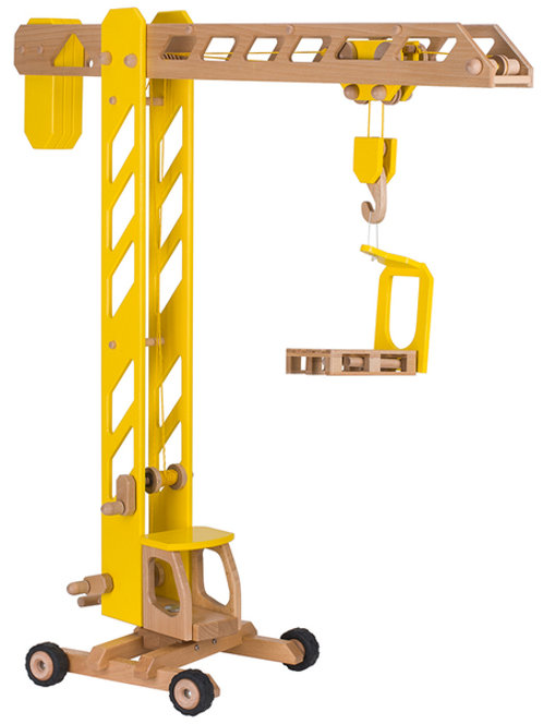 Giant Wooden Crane