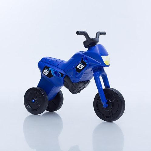 Balancing bike, blue with black