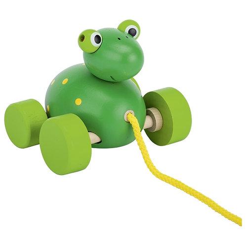 Frog, pull-along animal Frodoh