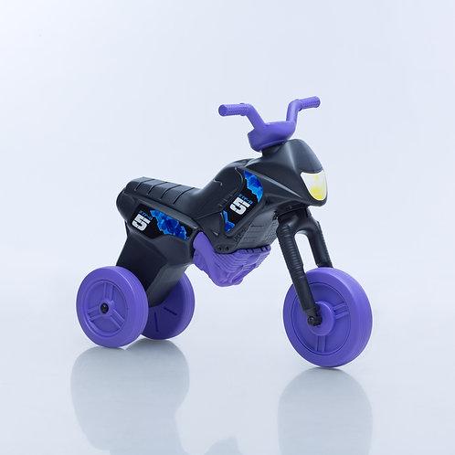 Balancing bike, black with purple