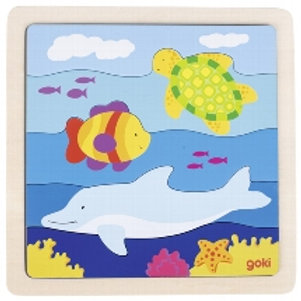 In the sea, puzzle