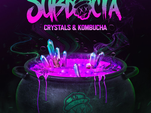Building off his Wakaan debut EP Psych Ward, SubDocta has released his next EP Crystals & Kombucha