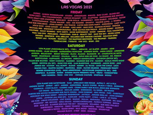 EDC Las Vegas Stage Lineups Revealed