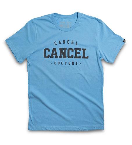 """SKY BLUE """"CANCEL"""" CREW"""