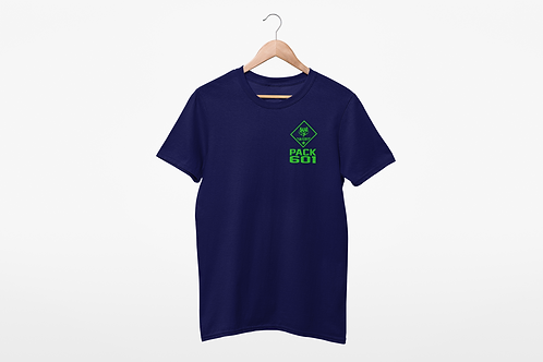 Pack 601 T-Shirt - Navy
