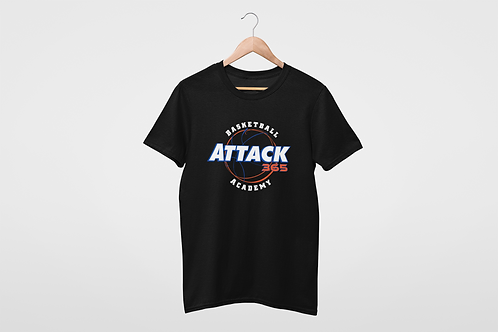 Customized Basketball Academy Attack 365 Cotton T-Shirt