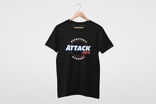 Customized Basketball Academy Attack 365 Cotton T-Shirt
