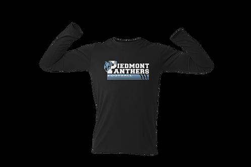 Piedmont Panther Football Long Sleeve T-Shirt