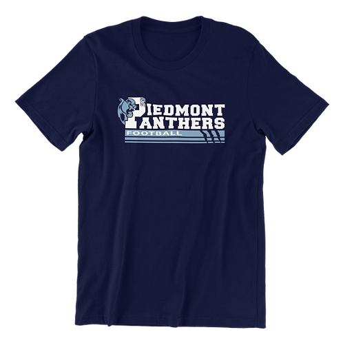 Piedmont Panther Football T-Shirt