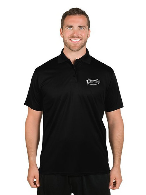 Hopewell Mission Control Performance Polo Men Shirt
