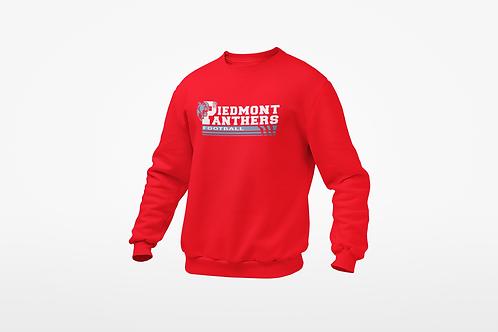 Piedmont Panther Football Sweatshirt